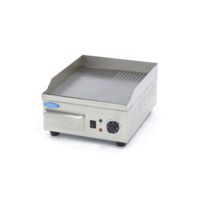 Elektrická grilovací deska 36 cm - hladká rýhovaná Maxima 09365160
