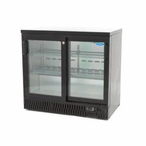 Chladnička na nápoje Deluxe 227L - posuvné dveře Maxima 09400915