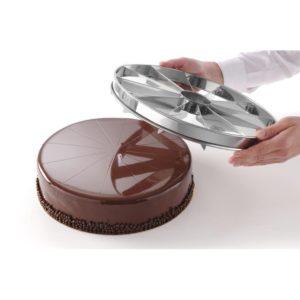 Porcovač na dorty ø320 mm - 12 částí   Hendi 512517